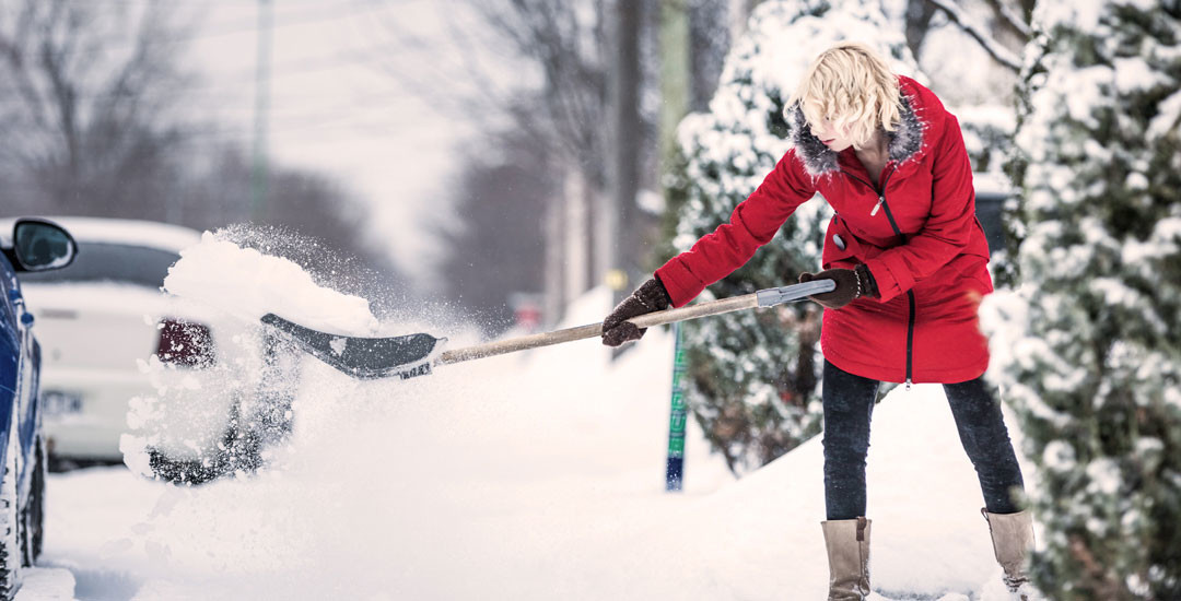 Health Tips for Shovelling Snow